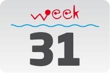 4 - week 31 / 1 augustus - 8 augustus