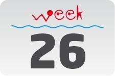 4 - week 26 / 27 juni - 4 juli
