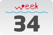 4 - week 34 / 22 augustus - 29 augustus