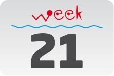 1 - week 21 / 22 mei - 29 mei