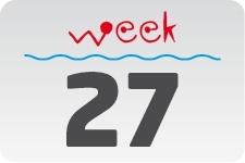 4 - week 27 / 4 juli - 11 juli
