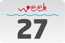 1 - week 27 / 3 juli - 10 juli