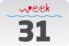 1 - week 31 / 1 augustus - 8 augustus