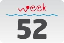 1 - week 52 / 25 december - 1 januari
