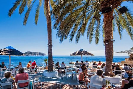 Algas Beach Bar Moraira | Calamora