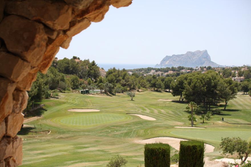 golfbaan Moraira