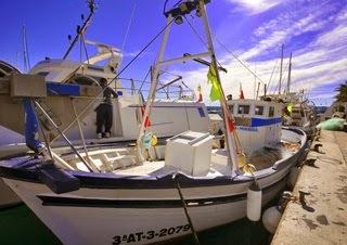 vissersboten Moraira