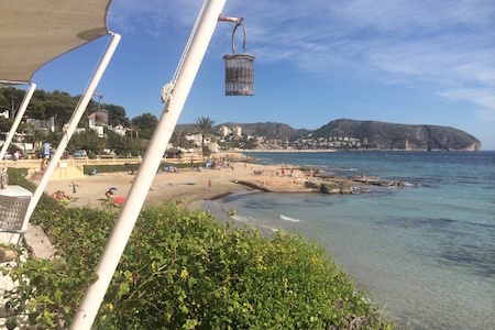 strand Platgetes in Moraira