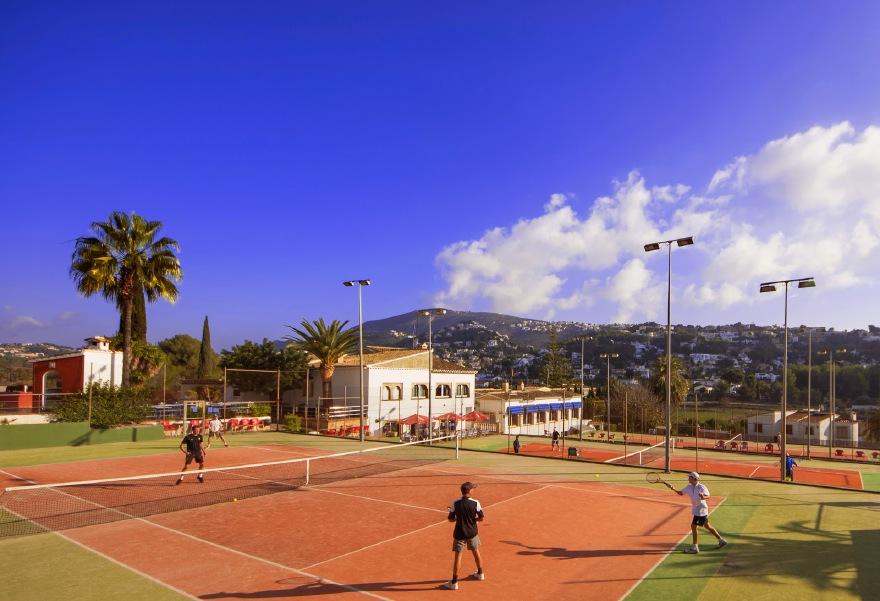 tennis in Moraira