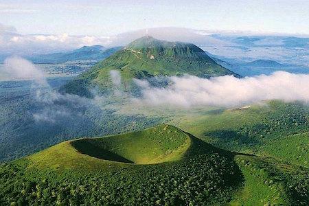 vulkanen Auvergne
