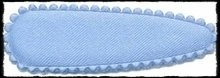 (gr) Kniphoesjes incl knipjes - l.blauw satijn - 2 stuks