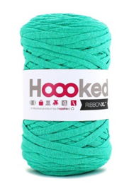 Hoooked Ribbon XL, (donker) mint - 5 meter
