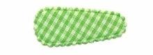 (kl) Haarkniphoesjes incl knipjes - groene ruit - 2 stuks