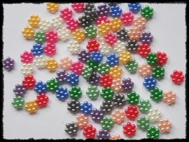 vdp - parelbloemetjes 10mm - 100 stuks
