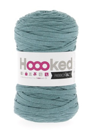 Hoooked Ribbon XL, oudgroen - 5 meter