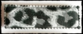 (rh) haarkniphoesjes incl knipjes luipaard grijs