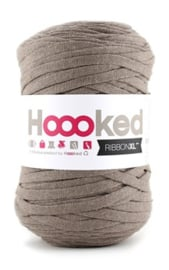 Hoooked Ribbon XL, taupe - 5 meter