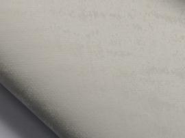 Lapje leer, suede tijgerprint wit - 20 x 22 cm.