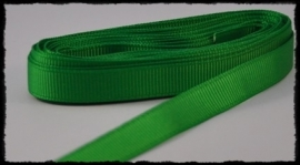 Grosgrain 10mm, groen - 5 meter