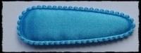 (gr) Haarkniphoesjes, neon blauw - 2 stuks incl 2 knipjes