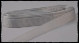 Grosgrain 10mm, lichtgrijs - 5 meter