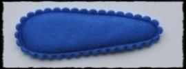 (md) kniphoesjes incl knipjes - kobalt satijn - 2 stuks