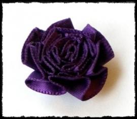 Rozet, paars - 3 stuks - 25 mm