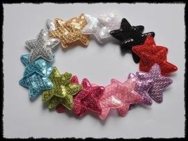 vdp - pailletten sterren 45mm - 20 stuks