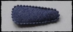 (kl) Haarkniphoesjes incl knipjes - blauw jeans - 2 stuks