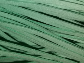 Suede koord, mint - 3mm.