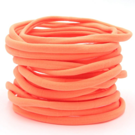 Nylon haarbandje, neon oranje