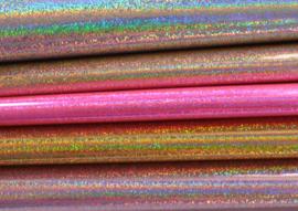 Setje lapjes laser dots - 5 stuks - 20x22 cm.