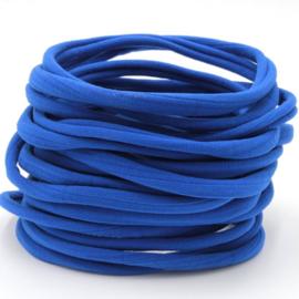 Nylon haarbandje, kobalt