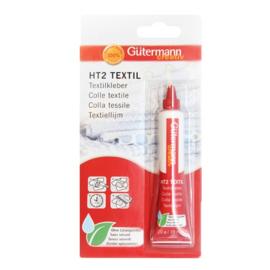 Gütermann HT2 textiellijm, tube van 20 gram