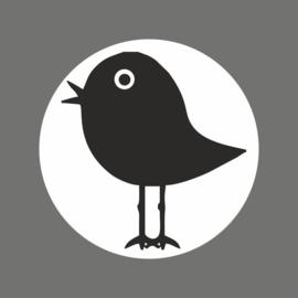Etiketten 'vogel' - 10 stuks