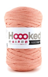 Hoooked Ribbon XL, koraal - 5 meter
