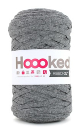 Hoooked Ribbon XL, grijs - 5 meter