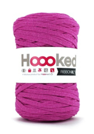 Hoooked Ribbon XL, donkerroze - 5 meter