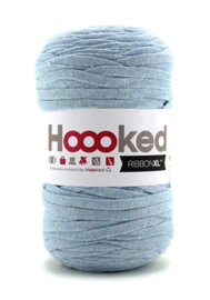 Hoooked Ribbon XL, lichtblauw - 5 meter