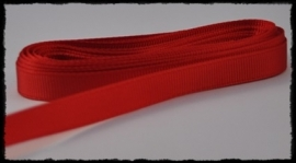 Grosgrain 10mm, rood - 5 meter