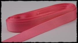 Grosgrain 10mm, roze - 5 meter