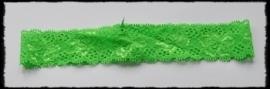 Kanten haarbandje, groen