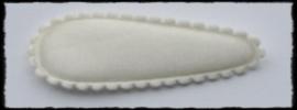 (md) kniphoesjes incl knipjes - ivoor satijn - 2 stuks
