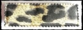 (rh) haarkniphoesjes incl knipjes, luipaard lichtbruin