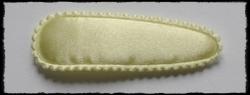 (gr) kniphoesjes incl knipjes - pastel geel satijn - 2 stuks