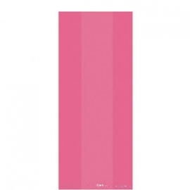 Cello bags/ Cellofaanzakjes roze (25st)