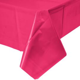 Magenta roze feestartikelen - tafelkleed
