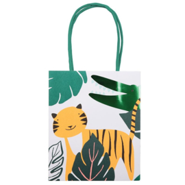 GO WILD JUNGLE PARTY | CADEAU TASJES (8ST)