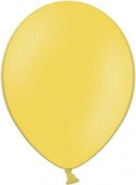 Latex ballonnen geel (10st)