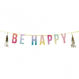 Be Happy grote tassel slinger